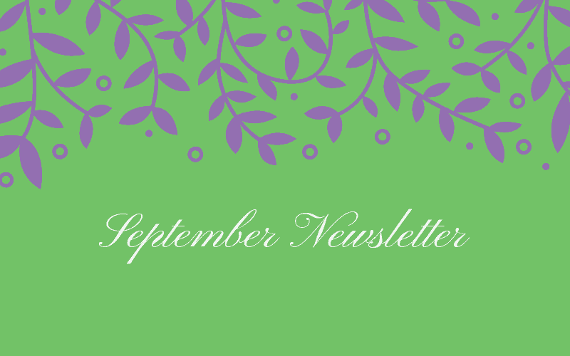 River Bend September Newsletter
