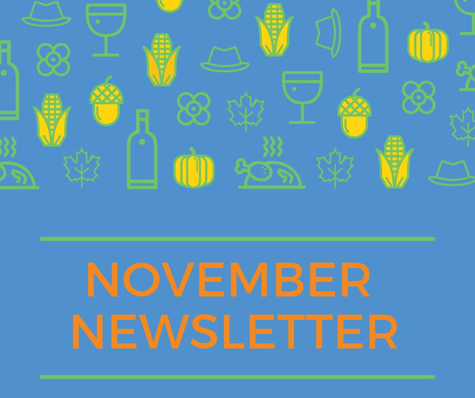 November NEWSLETTER River Bend 2018